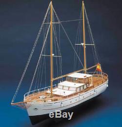 Kit De Maquette De Bateau Pour Yacht Mantua Bruma Open Cruiser 143 (736)