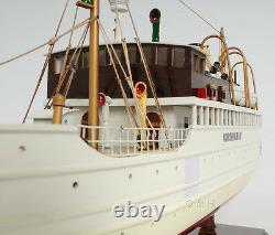 Korsholm III Ferry Boat Steamship Assembled 24 Built Wooden Model Boat Nouveau