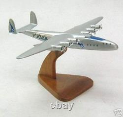 Latecoere L-631 Flying Boat Airplane Desktop Wood Model Livraison Gratuite Régulière