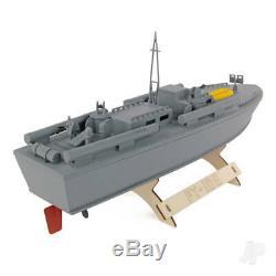 Le Bois Modèle Rederij Pt-109 Patrol Torpedo Kit Bateau 400mm
