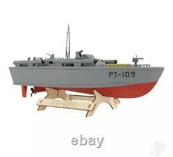 Le Modèle En Bois Boat Company Pt-109 Patrol Torpedo Boat Kit 400mm
