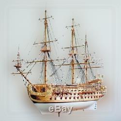 Luxe Classic Sail Galion Espagnol Bateau San Felipe Warship Maquettes En Bois