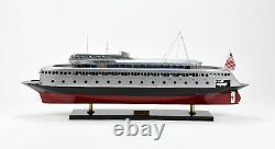 MV Kalakala Ferry Hancrafted Bateau De Passagers En Bois Modèle 36