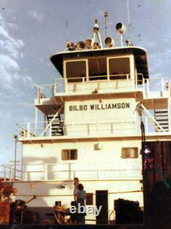 Magnifique Modèle De L'original Push-boat Bilbo Williams