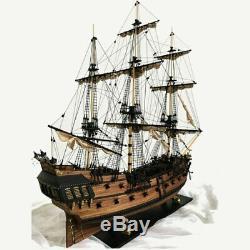 Main Ship 32 Pouces Modèle Bateau À Voile En Bois Kit Ships Maquettes Bois
