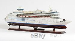 Majesté Du Modèle En Bois Royal Caribbean Cruise Seas Bateau 31 Construit Bateau Nouveau