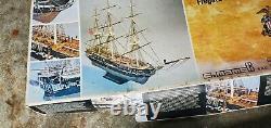 Mamoli 193 Échelle Modèle En Bois Navire Uss Constitution Old Ironsides Kit MV 31
