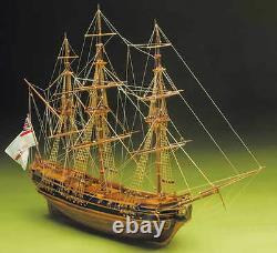 Mantua Hms Président Frégate Légère 1700 160 Échelle (792) Modèle Boat Kit