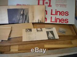 Maquette # 1314 De Modèle De Bateau En Bois Hydravion Rc Dumas Atlas Van Lines U-1 Rc À L'échelle