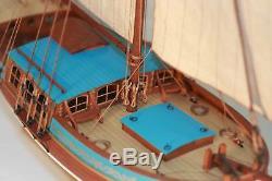 Maquette De Bateau À Voile Suède Yacht 1/24 21 '' 540 MM En Bois