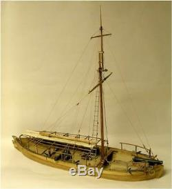 Maquette De Bateau En Bois Philadelphia Gunboat Philadelphia