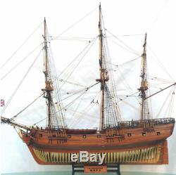 Maquettes De Bateaux En Bois Kits De Bricolage Bois De Bateau Découpées Au Laser 3d Hms 132 Druide 1776 16 Cannon