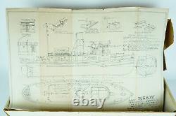 Marine Models Tug Boat Sea Going Type En Bois Bateau Kit No 1081