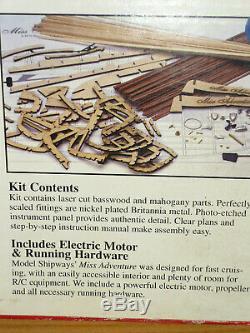 Marque Nouveau Modèle Shipways Mlle Adventure Racing Modèle Rc Bois Bateau Kit 1/6 1830