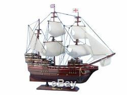Mayflower 20 Modèle En Bois Bateau Modèle Modèle Grand Décoratif Navire Bateau