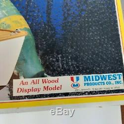Midwest Produits De Bateau Bois Maine Lobster Modèle Kit # 991 Pêche En Bois Modèle
