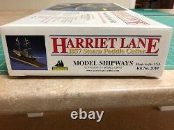 Model Shipways Harriet Lane 1857 Steam Paddle Cutter Nib Wood Model Kit