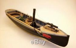 Model Shipways Ms2261 Usn Piquet # 1 124 Kit De Bateau En Bois À L'échelle En Vente