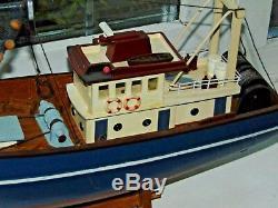 Modèle Bateaux De Pêche Modèle D'affichage