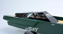 Modèle De Bateau De Course En Bois Fait Main Pour Yacht De Luxe 118 Wally Power