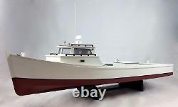 Modèle De Bateau De Travail Chesapeake Bay Deadrise, Bateau De Cockpit Ouvert, Crabotage, Pêche