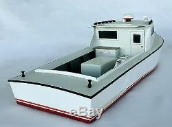 Modèle De Bateau De Travail De La Baie De Chesapeake, Bateau De Pêche Et De Pêche Au Crabe, Modèle De Flottaison
