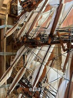 Modèle De Bateau En Bois Cutty Sark Bateau, Qualité Musée, Conçu À La Main À Partir De Bois Dur
