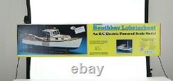 Modèle De Bois Midwest Boothbay Lobsterboat Rc Kit #964 Boîte Ouverte Non Construite