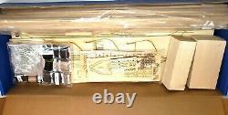 Modèle De Voies Navales #ms2040 Uss Constitution Ship Kit, 1/76 Old Ironsides 48 Long