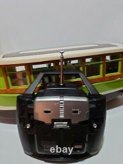 Modèle En Bois Modèle Rc Boat Vintage Avec Futaba T2er Lire Description
