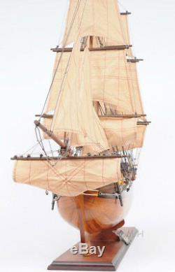 Modèle Hms Bounty Tall Ship En Bois Voilier 37 Entièrement Assemblé Replique Nouveau