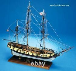 Modèle Shipways 2028 164 Rattle Snake Wood Modèle Ship Kit