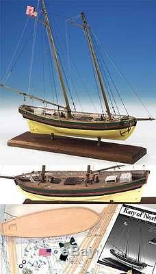 Modèle Shipways Katy De Bois Norfolk Kit Bateau Nouveau