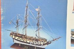 Modèle Shipways Massachusetts Privateer Rattlesnake 1780 In 164 Scale