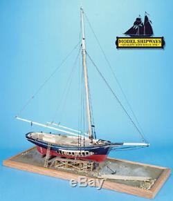 Modèle Shipways Mystic Seaport Sloop Emma C. Berry Well Kit De Modèle De Bateau En Bois De