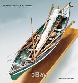 Modèle Shipways New Bedford 2033 116 Baleinière En Bois Modèle Navire Kit
