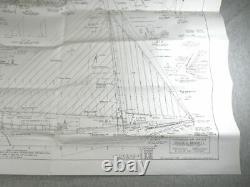 Modèle Shipways Willie Bennett Chesapeake Bay Skipjack Vintage Wood Boat Modèle