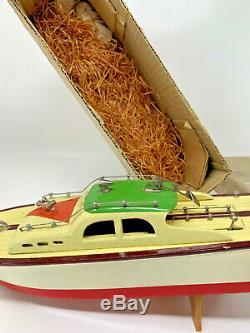 Modèle Vintage Motor Boat Ito Japon Bois Boîte Originale Mlle Grands Lacs Tmy 192397