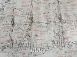 Modèle Voies Navales 164 Échelle Massachusetts Serpentier Privé 1780