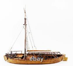 Modèle Voies Navales Gunboat Philadelphia American Fleet 1776 124 Échelle