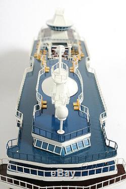 Navire De Croisière Majesty Of The Seas 32 Construit En Maquette De Bateau En Bois, Modèle Ocean Liner