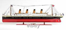 Navire De Croisière Rms Titanic Ocean Liner Construit 56 Xlarge En Bois Modèle De Bateau Assemblé