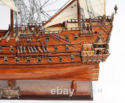 Néerlandais De Zeven Provincien Wooden Tall Ship Model 36 Boat New