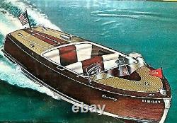 New Century Sea Maid 20' Model Boat Kit By Sterling (nouveau Vieux Stock Scellé!)