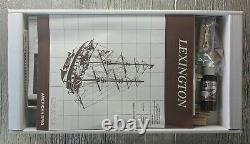 Nouveau Mamoli Mv48 Lexington Wood Plank On Bulkhead 1/100 Model Ship Kit 17 Long