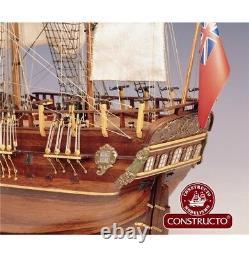 Nouveau Modèle En Bois Kit Navire Par Constructo Le Hms Endeavour Angleterre XVII