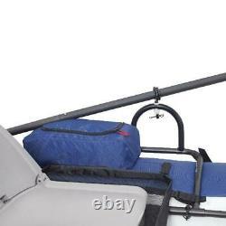 Nouveau Seule Personne Homme Bateau De Pêche Aventure Plein Air Float Raft Eau De La Rivière