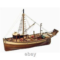 Occre Palamos Bateau De Pêche 145 Scale Model Boat Display Kit 12000