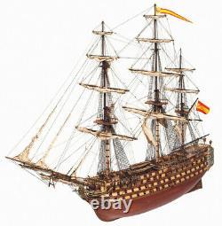 Occre Santisima Trinidad 190 Scale Wooden Model Ship Kit 15800