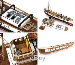 Occre Ulises Ocean Going Steam Tug 130 (61001) Kit De Bateau Miniature Rc
